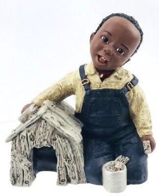All God's Children Martha Holcombe Resin Black Figurine Daylon Limited Edition