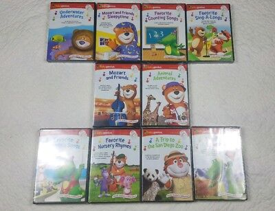baby genius set 10 dvds 10 cds baby genius bilingual set. Black Bedroom Furniture Sets. Home Design Ideas