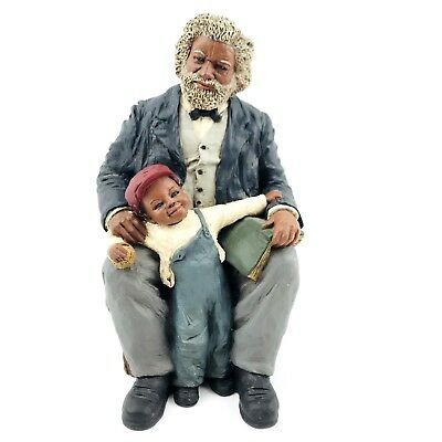 All God's Children Martha Holcombe Resin Black Figurine Frederick Douglass 38