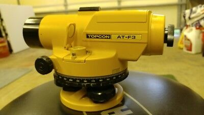 TOPCON AT-F3 Autolevel with case and accessories