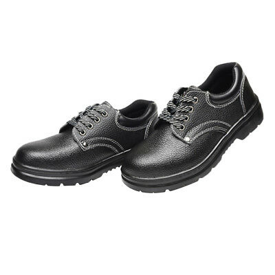 Anti-piercing Insulant Safety Work Breathable Leather Shoes Builder Footwear