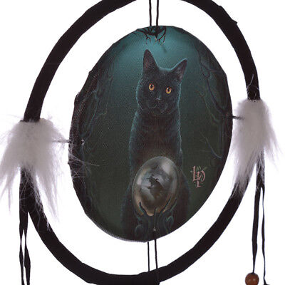 Lisa Parker Rise of the Witches  Cat 16cm Dreamcatcher