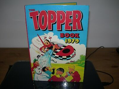 The Topper Book 1979 good condition - PRICE UNCLIPPED -