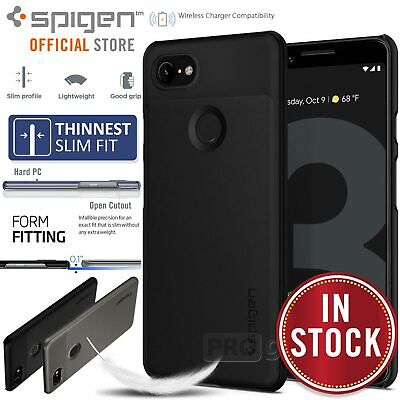 Google Pixel 3 XL / 3 Case, Genuine SPIGEN Ultra Thin Fit Slim Cover for Google