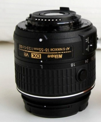 Nikon AF-P DX NIKKOR 18-55mm f/3.5-5.6 G VR Lens (Bulk Package)