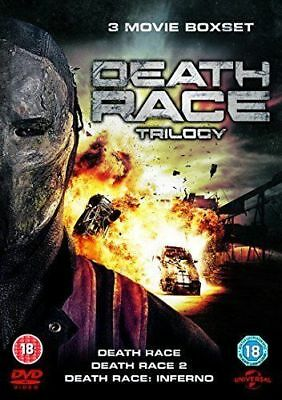 Death Race TRILOGY  [Jason Statham] (DVD) New And Sealed
