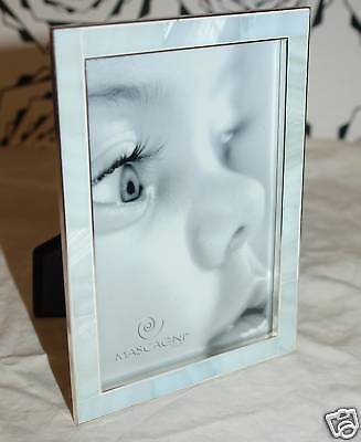 Picture Frame 10 X 15 Silver And Type Ivory Light Blue New Price Discounted