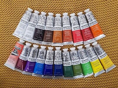 4X 37ml Tubes, Winsor & Newton Winton Oil Colour- Series 1