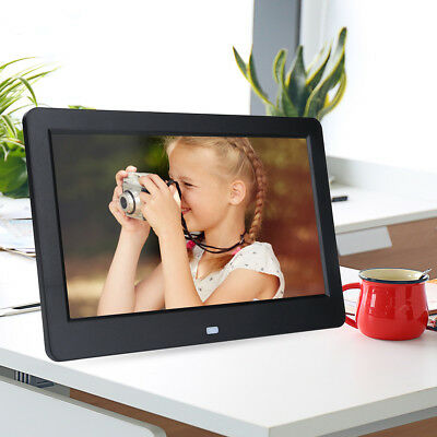 "10"" 16:9 Cornice Digitale Usb Foto Video Jpeg Jpg Mp3 Txt Player Nera"