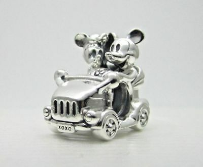 Authentic Pandora Bead Disney Mickey & Minnie Vintage Car Charm 797174