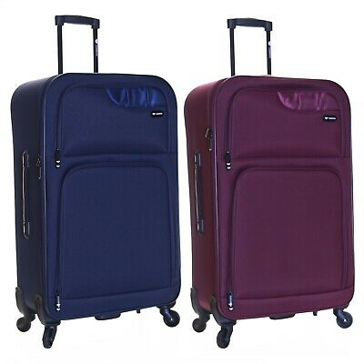 Extra Large XL 4 Spinner Wheels Lightweight Luggage Trolley Suitcase Case Bag