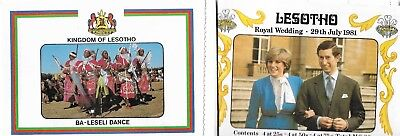 1981 Booklet Royal Wedding - Prince Charles and Diane Spencer Complete MUH