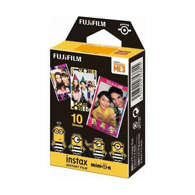 Fujifilm Minion Instax Mini Film, Movie Version, 10 Sheets #16555203