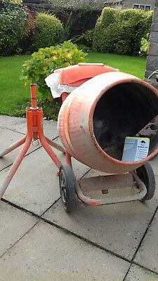 Belle Minimix 150 Concrete/Cement Mixer & Stand Electric engine