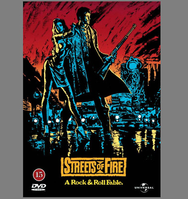Streets Of Fire DVD Superb Cult Movie Amy Madigan, Rick Moranis, Dafoe Gift Idea