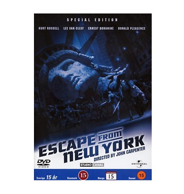 Escape From New York - Official Special Edition (DVD) EU/UK Version NEW