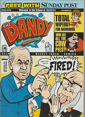 Promotional Issue of the Dandy (free with Sunday Post several years ago)