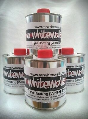 The best white wall tire paint 250ml