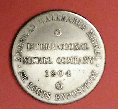 International Nickel Company - 1904 St. Louis Exposition