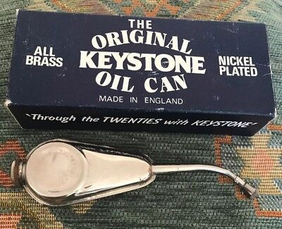 Keystone Oil Can And Box