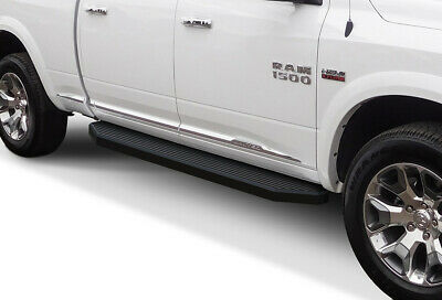 Running Board Side Step Nerf Bars 6in Black Fit Dodge Ram 1500 Quad Cab 09-18
