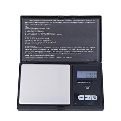 500g x 0.01g Pocket Jewelry Gold Weed Digital Scale Silver Professional Balance