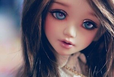 1/4 BJD Doll SD Doll Girl Unoa lusis -Free Face Make UP+Free Eyes