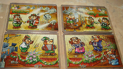 Verkaufe 1Super Puzzle Top Ten Teddies 1995 mit BPZ 100% Original
