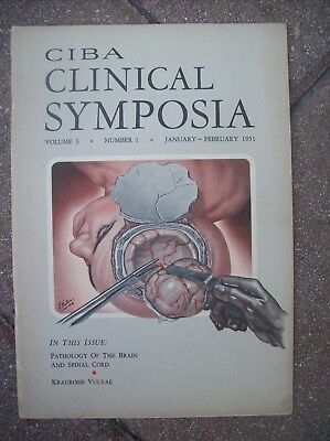 Clinical Symposia 1951 Pathology of The Brain & Spinal Cord / Kraurosis Vulvae