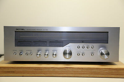 Rotel RX-304 - MW,FM,LW Vintage Stereo Receiver Sehr Selten 1979 TOP in Silber
