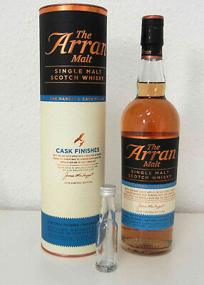 Arran Marsala Cask Finish 2018 50% Limited Edition - 2 cl Tasting Sample