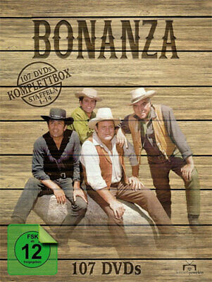 Bonanza - Komplettbox (DVD) 107DVDs Staffel 01-14  Min: 22400DDVB - Al!ve 641811