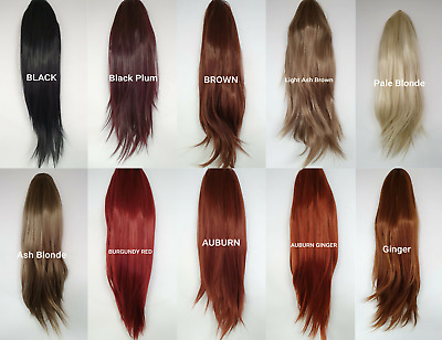 Hair Wigs for Ladies Synthetic Long & Straight Black Brown Blonde Red Auburn