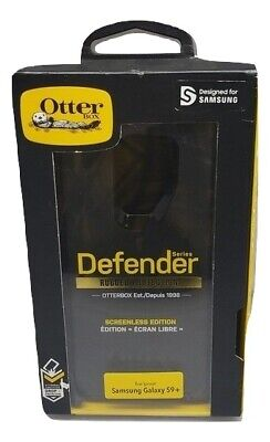 Original Authentic Otterbox Defender Case & Belt Clip Holster Galaxy S9+ Black
