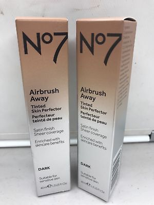 NO7 AIRBRUSH AWAY Tinted Skin Perfector DARK, 1.3 fl oz - $6.15 ...