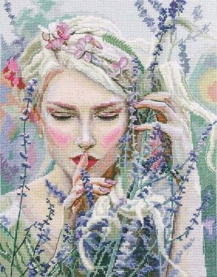 "Counted Cross Stitch Kit RTO M726 - ""Listening to the silence"""
