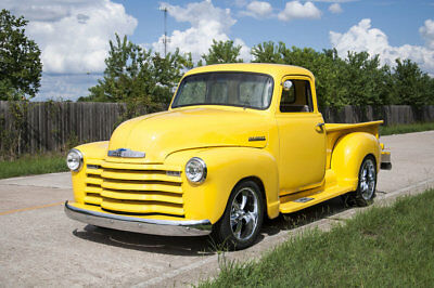 Other Pickups -- 1952 Chevrolet 5 Window Pickup, Yellow with 250 Miles available now!