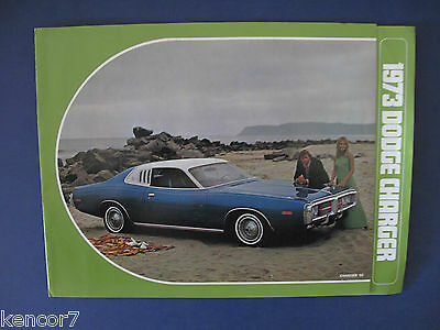 1973  Dodge Charger Sales Brochure D6144