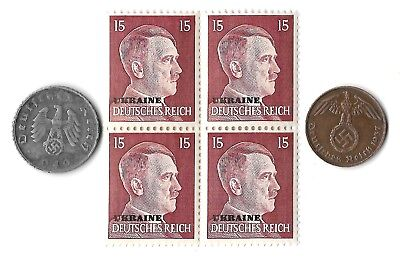 Rare Old WWII WW2 Germany Coin Stamp Great War Big Relic Collection Great Gift