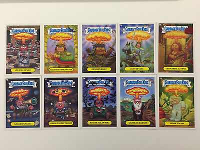 2013 USA Garbage Pail Kids Brand New Series 3 ADAM BOMBING Set - BNS 3