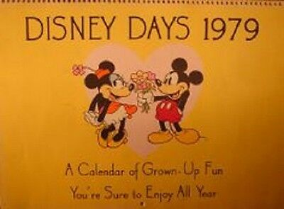 Disney Days (1979) Movie Character Calendar