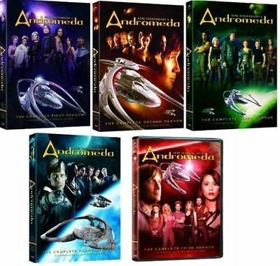 Andromeda Complete Seasons Series 1-5 12345 DVD SET, FREE EXPEDITED SHIPPING
