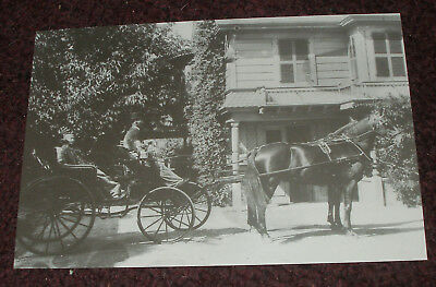 Winchester Mystery House Retired Postcard Sarah In Coach