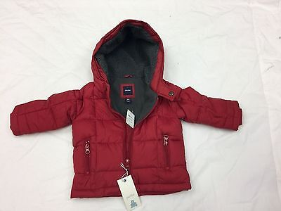 0cac72819 BABY GAP BOY Puffer Jacket Red Coat Size 12-18 months -  24.99 ...