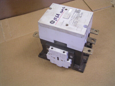 156 amp GE Contactor .. 110-120V, 60 Hz coil.  Auxillary contacts