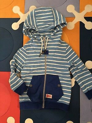 Country Road Boys Terry Zip Jacket Size 4-5