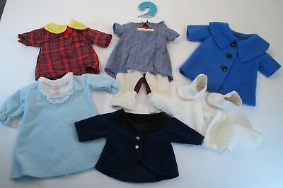 Madeline Doll CLOTHING LOT  Shoes Coat Nightgown Outfit Clothes Eden