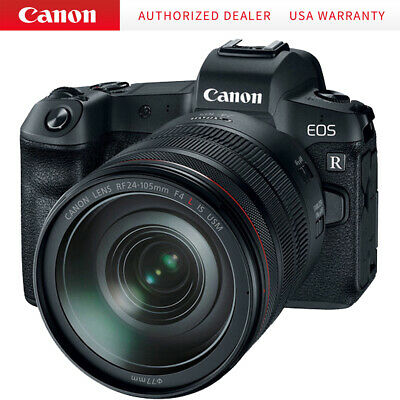 Canon EOS R 30.3MP Mirrorless Full Frame Digital Camera with 24-105mm Lens