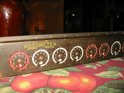 Vintage Addometer Calculator Reliable Typewriter / Adding Machine Co. 1940-50's