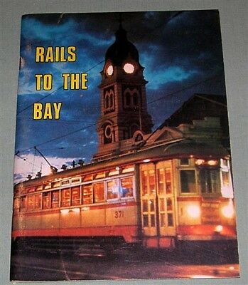 Rails to the Bay, by R Wheaton, South Australia, SC book